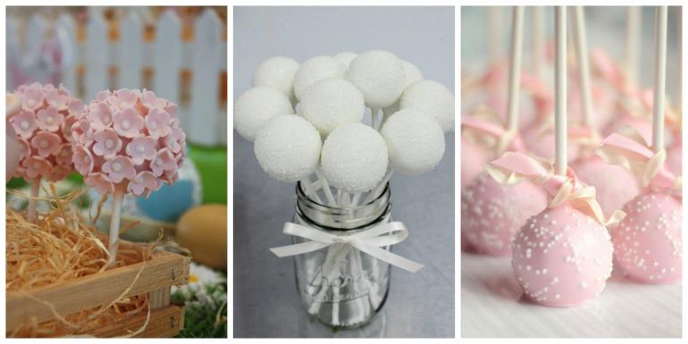Cakepops são pequenas gotas de bolo lindas lindas! Sempre no palito, para cima ou para baixo, eles são decorados de formas lindas, e você não vai deixar faltar na sua mesa.